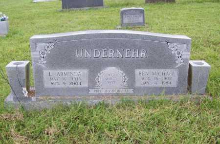 UNDERNEHR, BEN MICHAEL - Benton County, Arkansas | BEN MICHAEL UNDERNEHR - Arkansas Gravestone Photos
