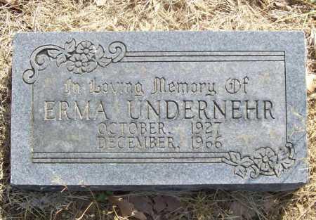 UNDERNEHR, ERMA - Benton County, Arkansas | ERMA UNDERNEHR - Arkansas Gravestone Photos