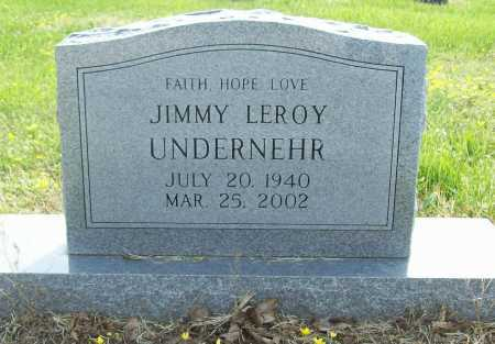 UNDERNEHR, JIMMY LEROY - Benton County, Arkansas | JIMMY LEROY UNDERNEHR - Arkansas Gravestone Photos
