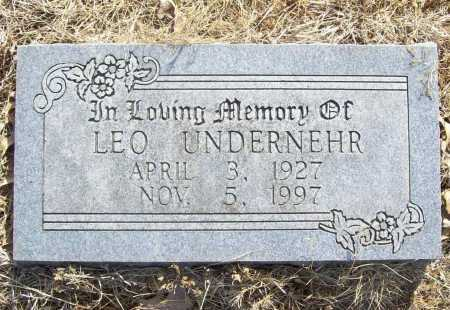 UNDERNEHR, LEO - Benton County, Arkansas | LEO UNDERNEHR - Arkansas Gravestone Photos