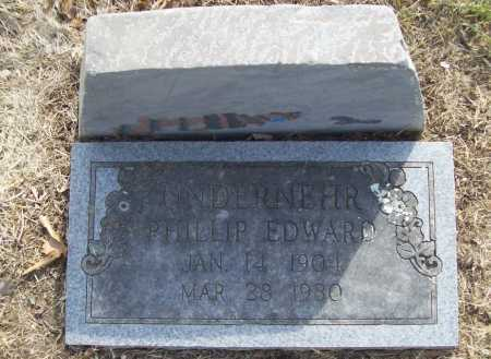 UNDERNEHR, PHILLIP EDWARD - Benton County, Arkansas | PHILLIP EDWARD UNDERNEHR - Arkansas Gravestone Photos