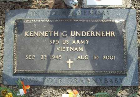 UNDERNEHR (VETERAN VIET), KENNETH G - Benton County, Arkansas | KENNETH G UNDERNEHR (VETERAN VIET) - Arkansas Gravestone Photos