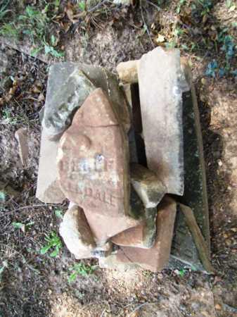 UNKNOWN, BELLE - Benton County, Arkansas | BELLE UNKNOWN - Arkansas Gravestone Photos