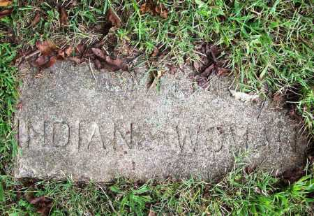 UNKNOWN, INDIAN WOMAN - Benton County, Arkansas | INDIAN WOMAN UNKNOWN - Arkansas Gravestone Photos