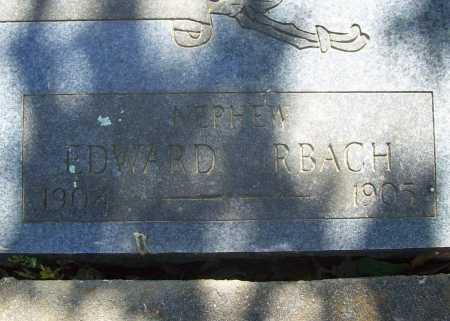 URBACH, EDWARD - Benton County, Arkansas   EDWARD URBACH - Arkansas Gravestone Photos