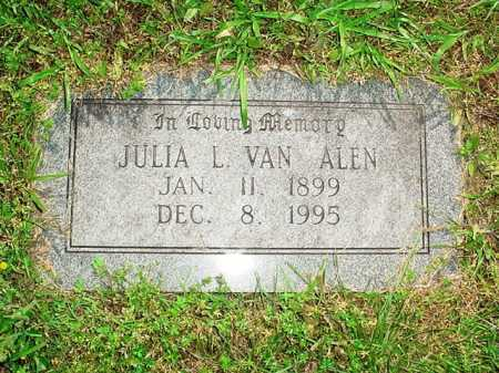 VAN ALEN, JULIA L. - Benton County, Arkansas | JULIA L. VAN ALEN - Arkansas Gravestone Photos