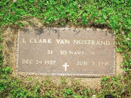 VAN NOSTRAND (VETERAN), L. CLARK - Benton County, Arkansas | L. CLARK VAN NOSTRAND (VETERAN) - Arkansas Gravestone Photos