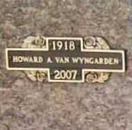 VAN WYNGARDEN (VETERAN WWII), HOWARD ALLEN - Benton County, Arkansas | HOWARD ALLEN VAN WYNGARDEN (VETERAN WWII) - Arkansas Gravestone Photos