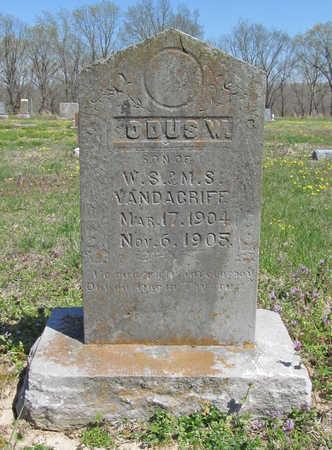 VANDAGRIFF, ODUS W - Benton County, Arkansas   ODUS W VANDAGRIFF - Arkansas Gravestone Photos