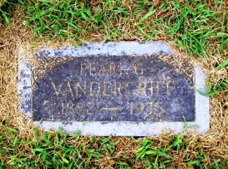 VANDERGRIFF, PEARL G. - Benton County, Arkansas | PEARL G. VANDERGRIFF - Arkansas Gravestone Photos