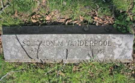 VANDERPOOL, SOLOMON P. - Benton County, Arkansas | SOLOMON P. VANDERPOOL - Arkansas Gravestone Photos
