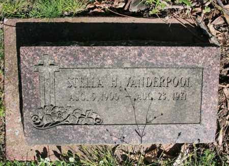 VANDERPOOL, STELLA H. - Benton County, Arkansas | STELLA H. VANDERPOOL - Arkansas Gravestone Photos