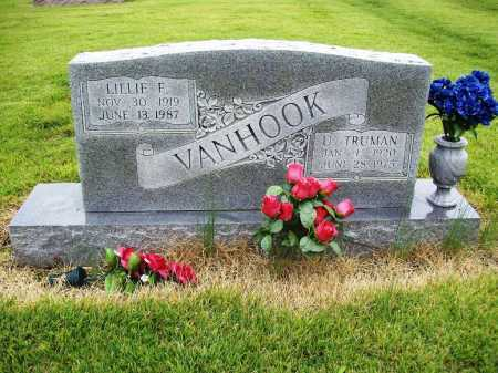 VANHOOK, LILLIE FRANCES - Benton County, Arkansas | LILLIE FRANCES VANHOOK - Arkansas Gravestone Photos