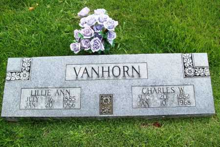 VAN HORN, LILLIE ANN - Benton County, Arkansas | LILLIE ANN VAN HORN - Arkansas Gravestone Photos