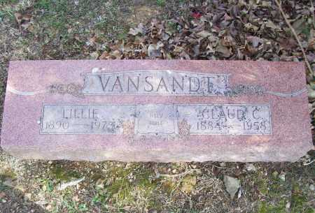 VANSANDT, CLAUD C. - Benton County, Arkansas | CLAUD C. VANSANDT - Arkansas Gravestone Photos