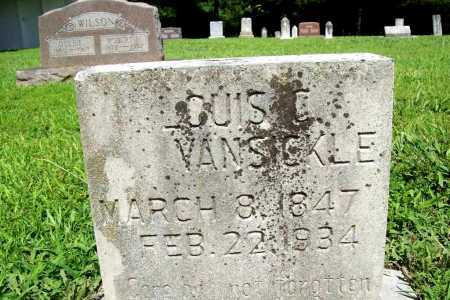 VANSICKLE, LOUIS C. - Benton County, Arkansas | LOUIS C. VANSICKLE - Arkansas Gravestone Photos