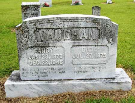 VAUGHAN, ANDY - Benton County, Arkansas | ANDY VAUGHAN - Arkansas Gravestone Photos