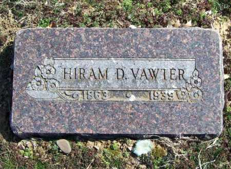 VAWTER, HIRAM D. - Benton County, Arkansas | HIRAM D. VAWTER - Arkansas Gravestone Photos