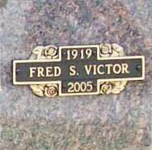 VICTOR, JR. (VETERAN WWII), FREDRICK S) - Benton County, Arkansas | FREDRICK S) VICTOR, JR. (VETERAN WWII) - Arkansas Gravestone Photos
