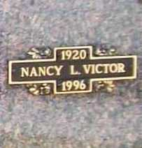 VICTOR, NANCY L. - Benton County, Arkansas | NANCY L. VICTOR - Arkansas Gravestone Photos