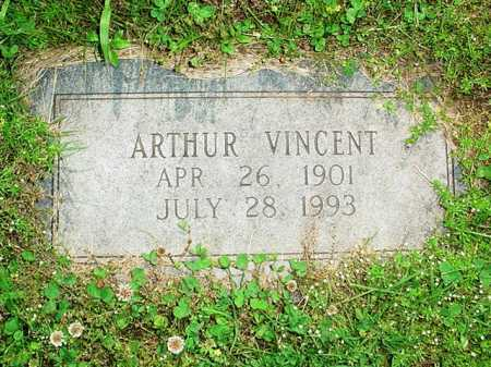 VINCENT, ARTHUR - Benton County, Arkansas | ARTHUR VINCENT - Arkansas Gravestone Photos