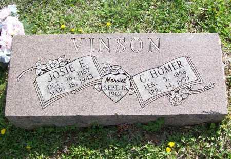 VINSON, C. HOMER - Benton County, Arkansas | C. HOMER VINSON - Arkansas Gravestone Photos