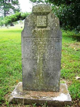 VOELZ, HARRIET A. - Benton County, Arkansas   HARRIET A. VOELZ - Arkansas Gravestone Photos
