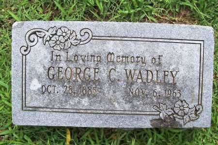WADLEY, GEORGE C. - Benton County, Arkansas | GEORGE C. WADLEY - Arkansas Gravestone Photos