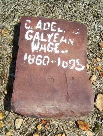 WAGES, C. ADELINE - Benton County, Arkansas | C. ADELINE WAGES - Arkansas Gravestone Photos