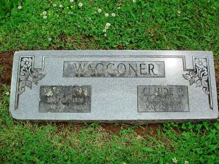 WAGGONER, CLAUDE R. - Benton County, Arkansas | CLAUDE R. WAGGONER - Arkansas Gravestone Photos