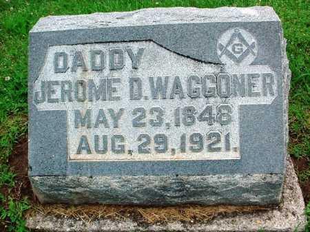 WAGGONER, JEROME D. - Benton County, Arkansas | JEROME D. WAGGONER - Arkansas Gravestone Photos