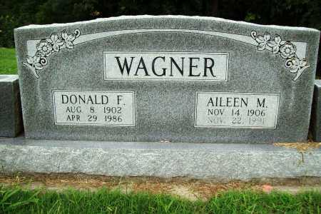 WAGNER, DONALD F. - Benton County, Arkansas | DONALD F. WAGNER - Arkansas Gravestone Photos