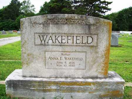 WAKEFIELD, ANNA E - Benton County, Arkansas | ANNA E WAKEFIELD - Arkansas Gravestone Photos