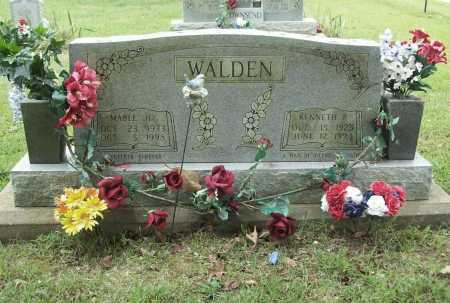 WALDEN, KENNETH P. - Benton County, Arkansas | KENNETH P. WALDEN - Arkansas Gravestone Photos