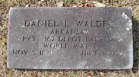 WALDEN (VETERAN WWI), DANIEL L - Benton County, Arkansas | DANIEL L WALDEN (VETERAN WWI) - Arkansas Gravestone Photos