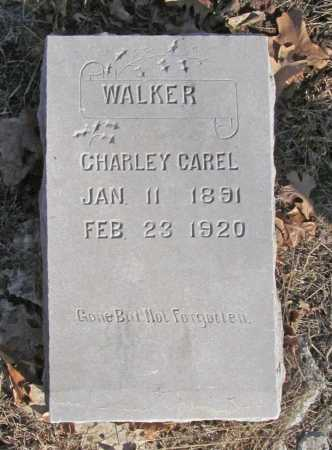 WALKER, CHARLEY GAREL - Benton County, Arkansas | CHARLEY GAREL WALKER - Arkansas Gravestone Photos