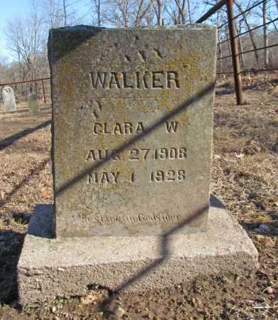 WALKER, CLARA W. - Benton County, Arkansas | CLARA W. WALKER - Arkansas Gravestone Photos