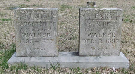 WALKER, ELSIE - Benton County, Arkansas | ELSIE WALKER - Arkansas Gravestone Photos