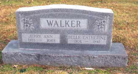 WALKER, BELLE CATHERINE - Benton County, Arkansas | BELLE CATHERINE WALKER - Arkansas Gravestone Photos