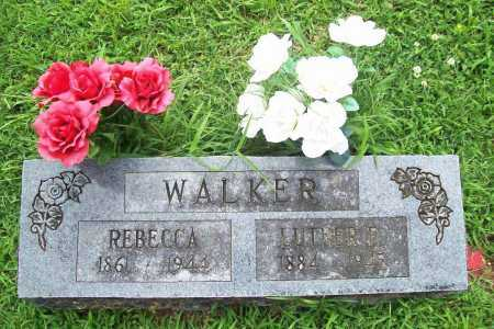 WALKER, LUTHER F. - Benton County, Arkansas | LUTHER F. WALKER - Arkansas Gravestone Photos