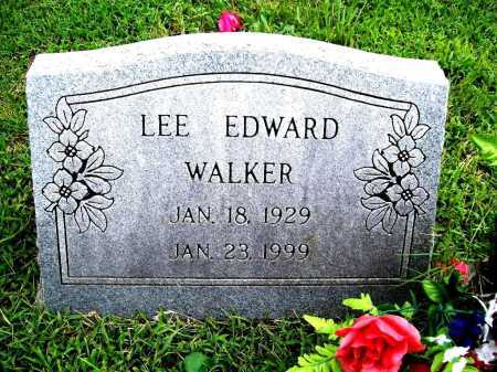 WALKER, LEE EDWARD - Benton County, Arkansas | LEE EDWARD WALKER - Arkansas Gravestone Photos