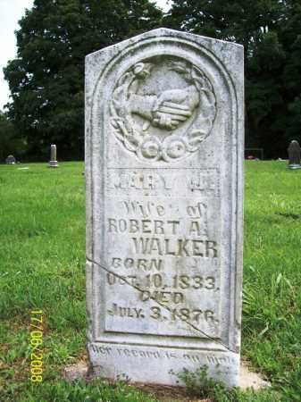 WALKER, MARY J. - Benton County, Arkansas | MARY J. WALKER - Arkansas Gravestone Photos