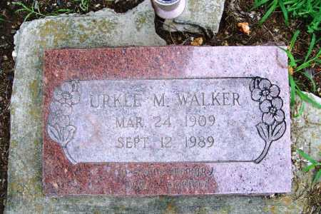 WALKER, URKLE M. - Benton County, Arkansas | URKLE M. WALKER - Arkansas Gravestone Photos