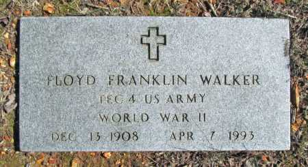 WALKER (VETERAN WWII), FLOYD FRANKLIN - Benton County, Arkansas | FLOYD FRANKLIN WALKER (VETERAN WWII) - Arkansas Gravestone Photos