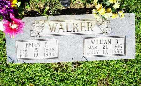 WALKER, WILLIAM D. - Benton County, Arkansas | WILLIAM D. WALKER - Arkansas Gravestone Photos