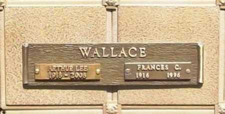 WALLACE, FRANCES C. - Benton County, Arkansas | FRANCES C. WALLACE - Arkansas Gravestone Photos