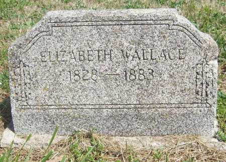 WALLACE, ELIZABETH - Benton County, Arkansas | ELIZABETH WALLACE - Arkansas Gravestone Photos