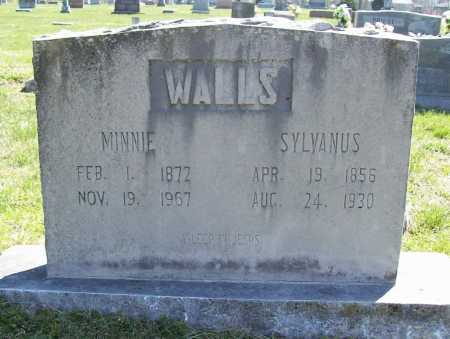 WALLS, SYLVANUS - Benton County, Arkansas | SYLVANUS WALLS - Arkansas Gravestone Photos