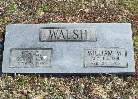 WALSH, BLY G. - Benton County, Arkansas | BLY G. WALSH - Arkansas Gravestone Photos