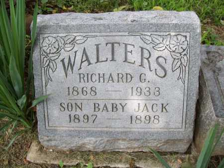 WALTERS, RICHARD G. - Benton County, Arkansas | RICHARD G. WALTERS - Arkansas Gravestone Photos
